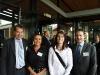 Gavan Mathieson, Sally Neilsen, Clare Moran and Matt Vincent - EPA