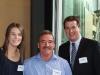 Rachel Aylmer, Kevin Shellard and John McCoy of Bartlett's